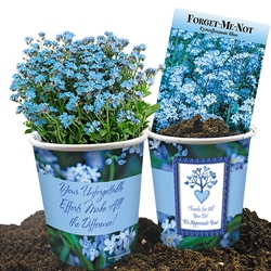 Your Unforgettable Efforts Make All the Difference! Forget-Me-Not Planter Set Forget-Me-Not, Flower, Planter, Gift, Set, Sets, Spring, Gifts, Unforgettable, Efforts, Making A Difference, Budget Friendly,