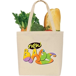 eGreen All Purpose Cotton Tote All Purpose, Cotton, Grocery bag, Giveaway, Budget Friendly, Economical, Cheap, Promotional, Events, Trade Show Bags, Health Fair, Imprinted, Tote, eGREEN, Eco-Friendly, Supermarket, Reusable